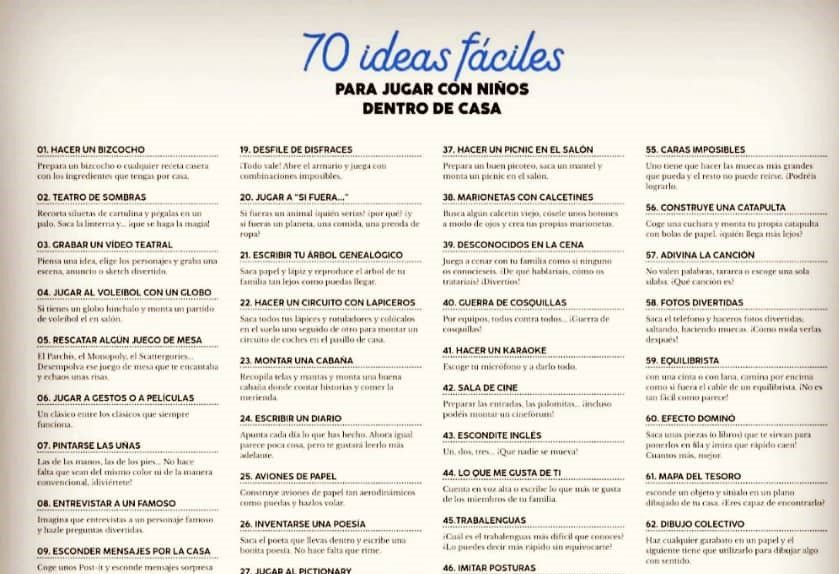 70 ideas fáciles 1