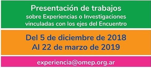 OMEP ARGENTINA 2019