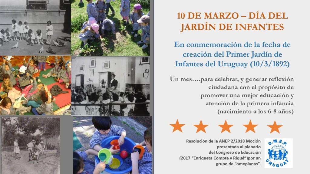 dia del jardín de infantes