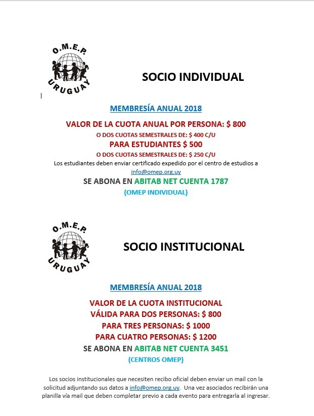 socios 2018